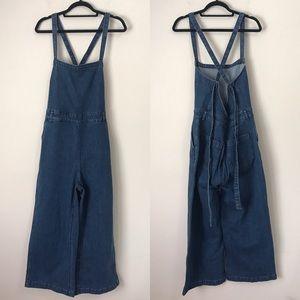 6ee3c8825ec2 Madewell Jeans - MADEWELL Denim Tie Back Jumpsuit